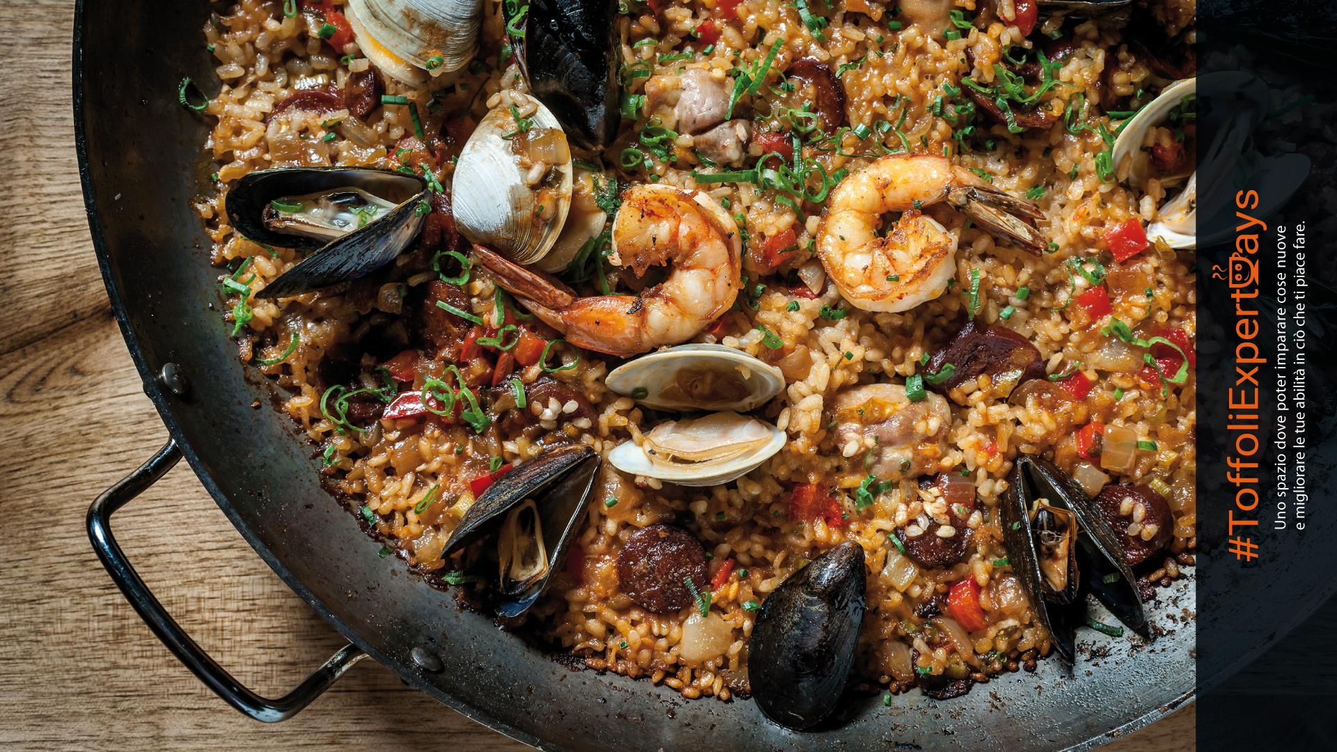 Cucina dal mondo: la paella un piatto tipico spagnoloToffoliExpertDays